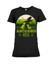 Auntasaurus Premium Fit Ladies Tee thumbnail