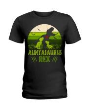 Auntasaurus Ladies T-Shirt thumbnail