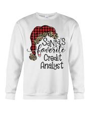 Santa's favorite Credit Analyst Crewneck Sweatshirt tile