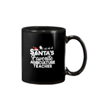 Santa's favorite Agriculture Teacher Mug thumbnail