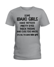 Idaho Girls Ladies T-Shirt front