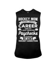 Hockey Mom - Support son's addition Sleeveless Tee thumbnail