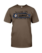 Made in Kansas along time ago Classic T-Shirt thumbnail