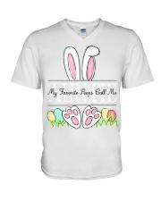 Auntie V-Neck T-Shirt tile