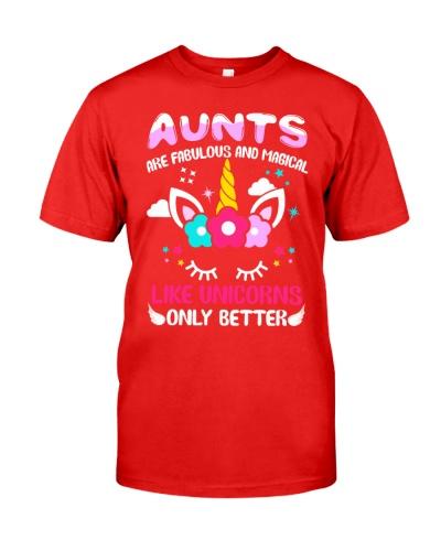 Fabulous and magical aunts love uniconrs