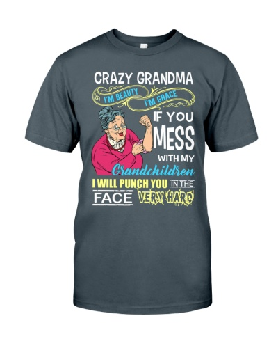 Crazy grandma nana grandmother