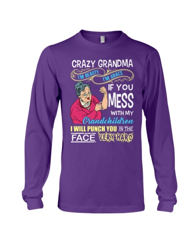 Crazy grandma nana grandmother