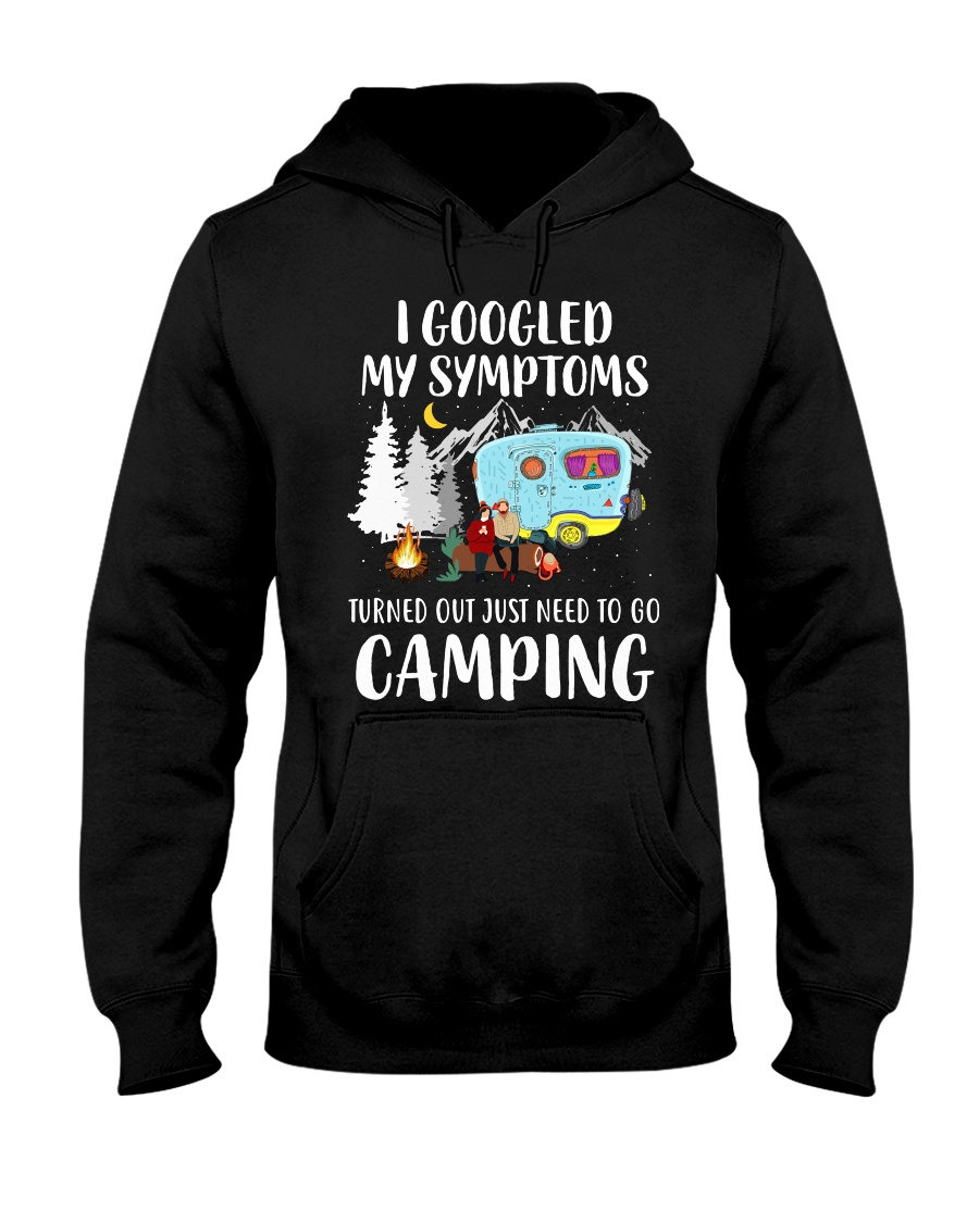 Turned out I just need to go Camping Hooded Sweatshirt