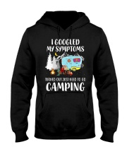Turned out I just need to go Camping Hooded Sweatshirt front