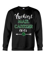 Luckiest Mail Carrier Ever Crewneck Sweatshirt thumbnail