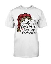 Santa's favorite Logistics Coordinator Classic T-Shirt tile