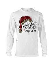Santa's favorite Dispatcher Long Sleeve Tee thumbnail