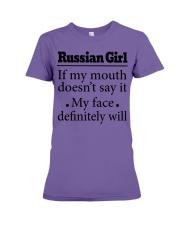 Russian Premium Fit Ladies Tee thumbnail