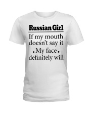 Russian Ladies T-Shirt front