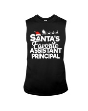 Christmas Santa's favorite Assistant Principal Sleeveless Tee thumbnail