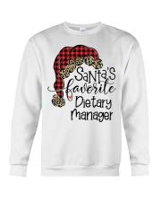 Santa's favorite Dietary Manager Crewneck Sweatshirt tile