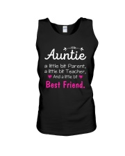 Auntie and niece best friend ever Unisex Tank thumbnail