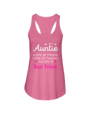 Auntie and niece best friend ever Ladies Flowy Tank thumbnail