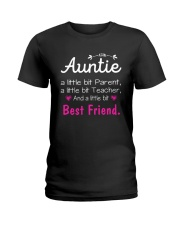 Auntie and niece best friend ever Ladies T-Shirt front