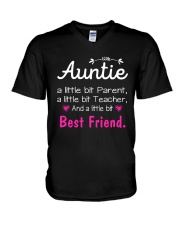Auntie and niece best friend ever V-Neck T-Shirt thumbnail
