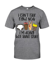 Hot aunt stuff Classic T-Shirt tile