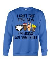 Hot aunt stuff Crewneck Sweatshirt tile