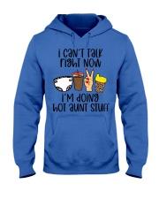 Hot aunt stuff Hooded Sweatshirt tile