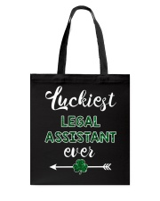 Luckiest Legal Assistant Ever Tote Bag thumbnail