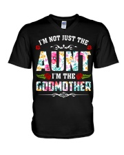 Aunt and Godmother V-Neck T-Shirt thumbnail