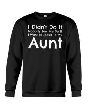 Nephew Niece and Aunt Crewneck Sweatshirt thumbnail