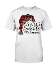 Santa's favorite Photographer Classic T-Shirt thumbnail