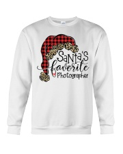 Santa's favorite Photographer Crewneck Sweatshirt thumbnail
