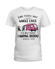 Camping Buddy Ladies T-Shirt front