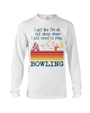 Bowling Long Sleeve Tee thumbnail