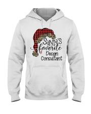 Design Consultant Hooded Sweatshirt front