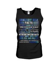 January Girl Facts Unisex Tank thumbnail
