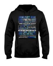 January Girl Facts Hooded Sweatshirt thumbnail