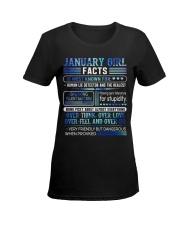 January Girl Facts Ladies T-Shirt women-premium-crewneck-shirt-front