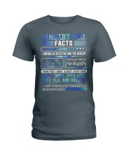 January Girl Facts Ladies T-Shirt tile