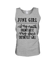 June Unisex Tank thumbnail