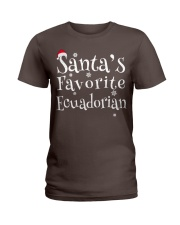 Santa's favorite Ecuadorian Ladies T-Shirt thumbnail