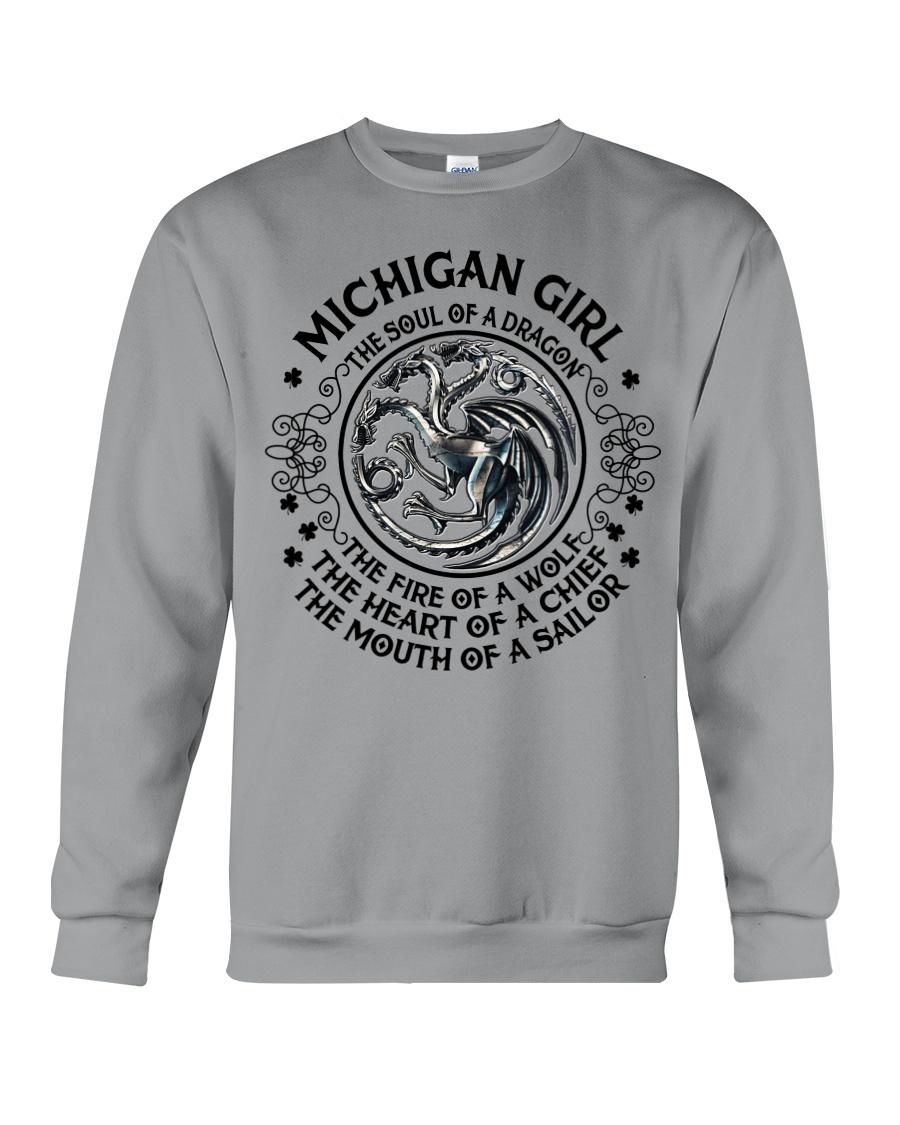 Michigan Dragon Crewneck Sweatshirt