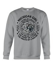 Michigan Dragon Crewneck Sweatshirt front