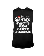 Santa's favorite Rural Carrier Associate Sleeveless Tee thumbnail