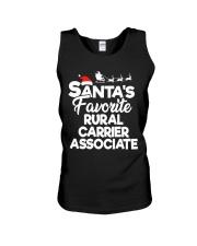 Santa's favorite Rural Carrier Associate Unisex Tank thumbnail