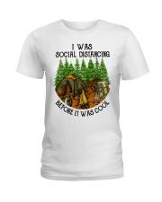 camping Ladies T-Shirt tile