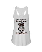 bingo queen Ladies Flowy Tank tile