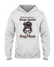 bingo queen Hooded Sweatshirt tile