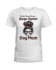 bingo queen Ladies T-Shirt front