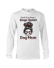 bingo queen Long Sleeve Tee tile